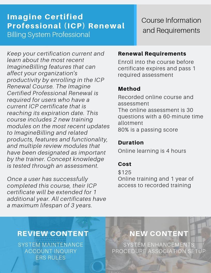 icp renewal flyer